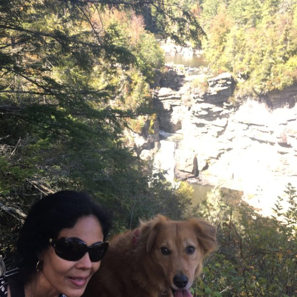 Linville Falls Hiking with your dog