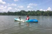 Dog friendly kayak tour in Charlotte North Carolina