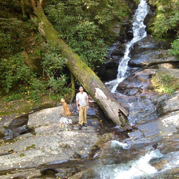 Happy Tails Tours North Carolina waterfalls