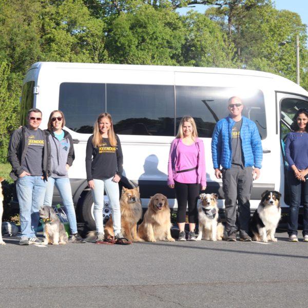 the fox tour april 2018 group photo happy tails tours