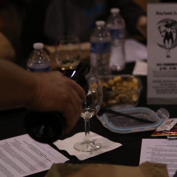 The Fox tour wine tasting