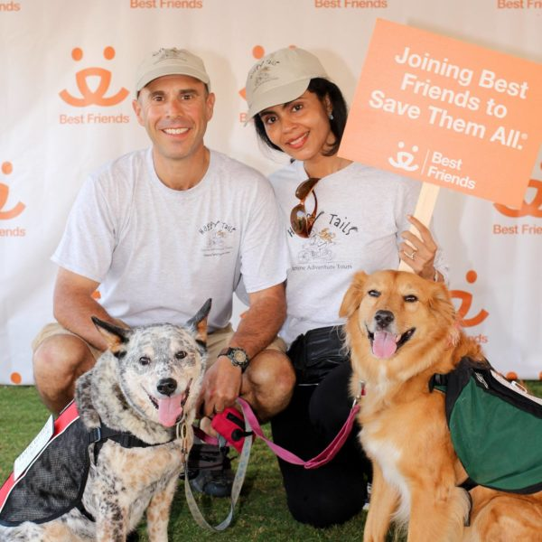 David and Claudia Blank with their dogs best friend