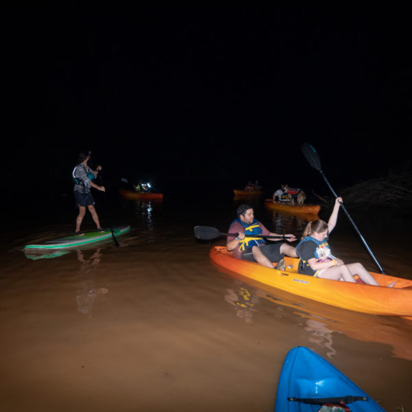 Happy Tails Canine Adventure Tours kayaking and SUP