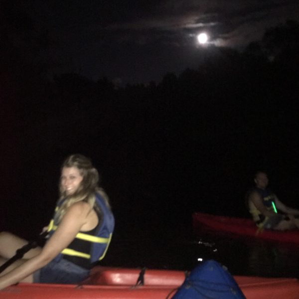 Howl at the moon kayaking with dogs 2