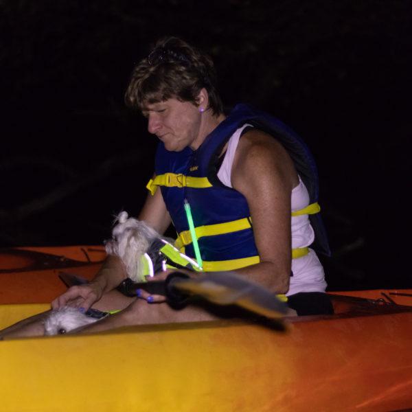 canine adventures kayaking