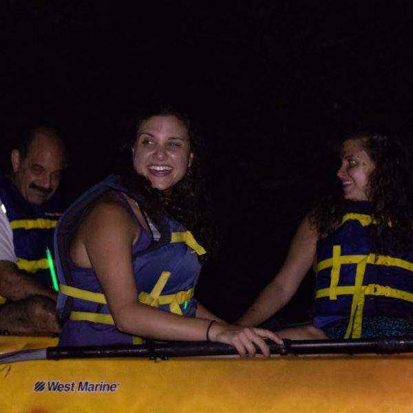 group kayaking with Happy Tails Tours