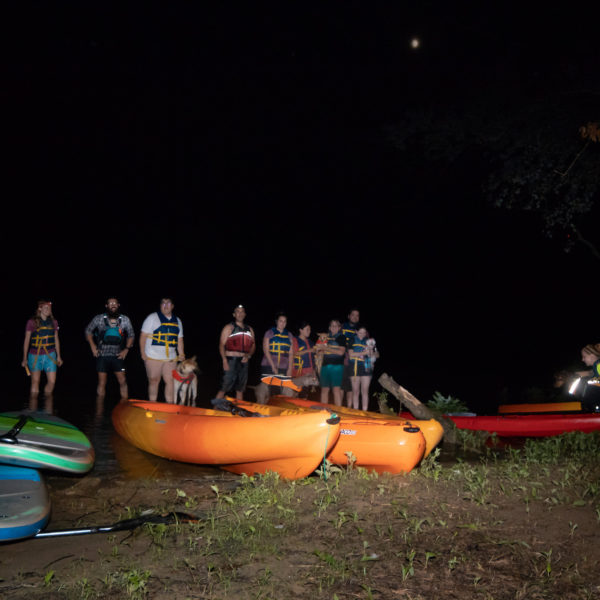 tours with dogs kayaking and SUP adventure