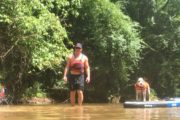 Stand Up Paddleboarding with dogs