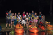 Group Photo by the Catawba River