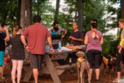 safety briefing by David Blank of Happy Tails Tours
