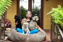 Sama Dog Amanda Southwest Tour